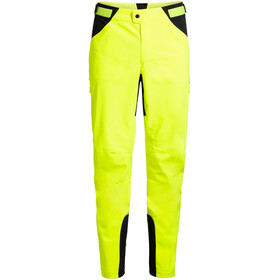 VAUDE Qimsa II Pantaloni Softshell Uomo, giallo